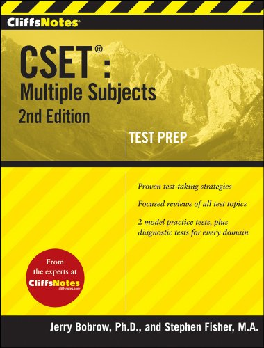 CSET - Multiple Subjects  2nd 2009 edition cover