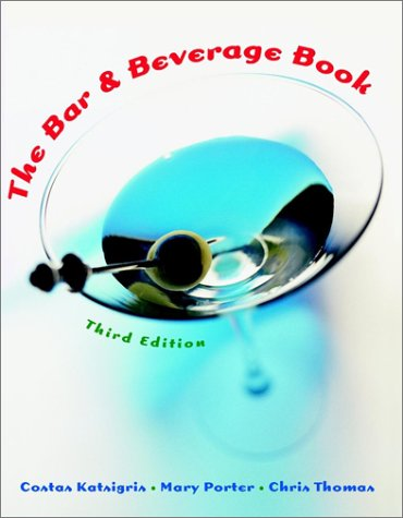 Bar and Beverage Book  3rd 2003 (Revised) edition cover