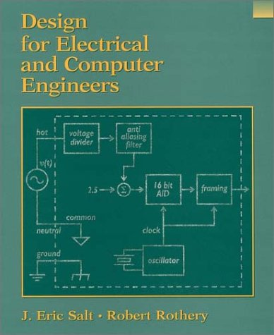 Design for Electrical and Computer Engineers   2002 edition cover