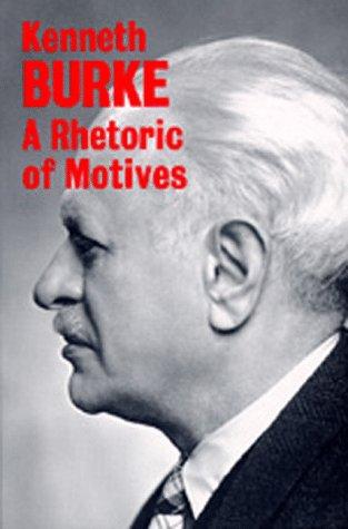Rhetoric of Motives   1969 (Reprint) edition cover