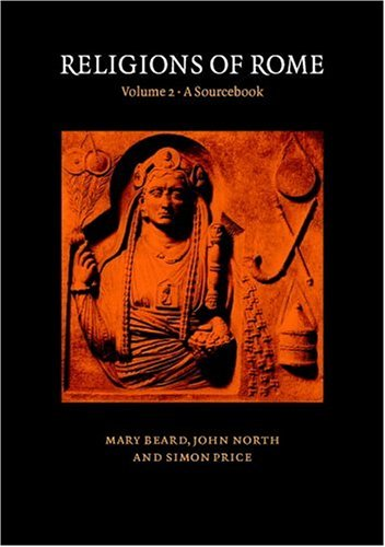 Religions of Rome   1998 edition cover