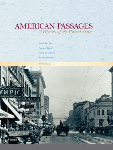 American Passages A History of the United States 3rd 2007 9780618914463 Front Cover