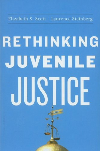 Rethinking Juvenile Justice   2008 edition cover
