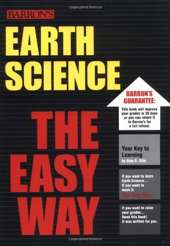 Earth Science the Easy Way   2003 9780764121463 Front Cover