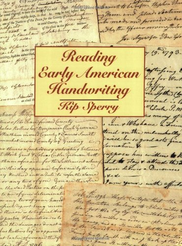 Reading Early American Handwriting 1st 1998 (Reprint) edition cover