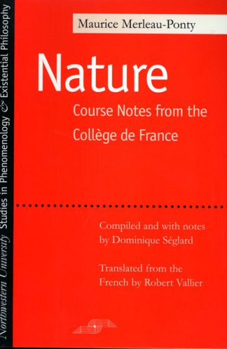 Nature Course Notes from the College de France  2003 edition cover