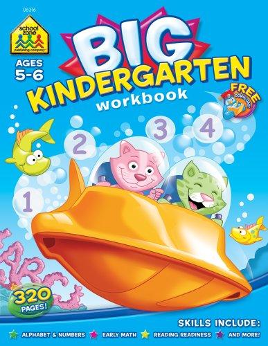 Big Kindergarten   1999 (Workbook) 9780887431463 Front Cover