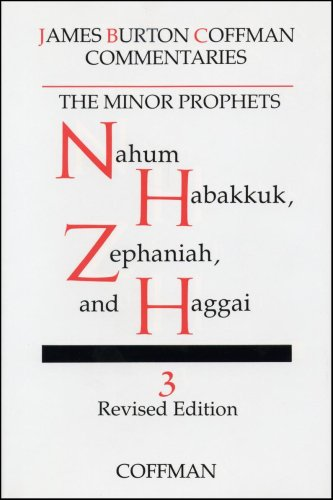 Commentary on Minor Prophets : Nahum, Habakkuk, Zephaniah and Haggai N/A edition cover
