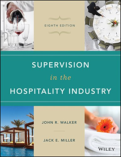 Supervision in the Hospitality Industry  8th 2016 9781119148463 Front Cover