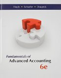 Fundamentals of Advanced Accounting + Connect Plus:   2013 edition cover