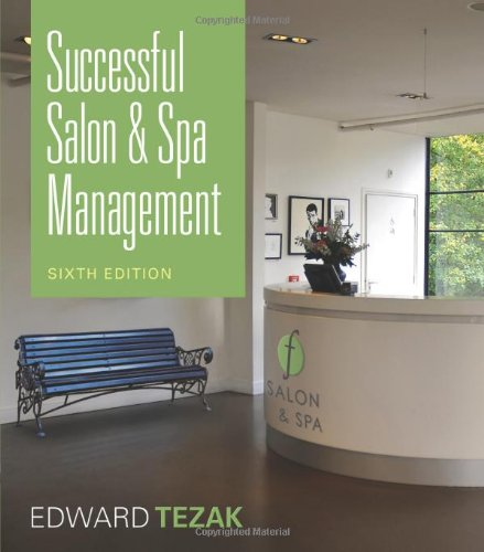 Successful Salon and Spa Management  6th 2012 edition cover