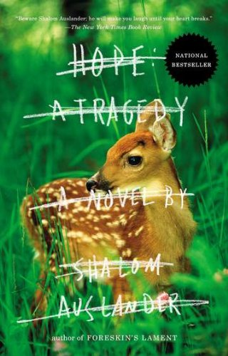 Hope: a Tragedy A Novel N/A edition cover