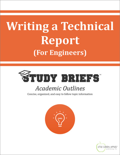 Writing A Technical Report (For Engineers) cover