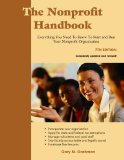 NONPROFIT HANDBOOK                      N/A edition cover