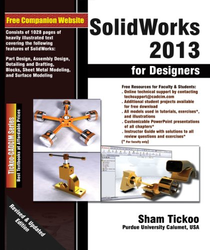 SOLIDWORKS 2013 FOR DESIGNERS  N/A edition cover