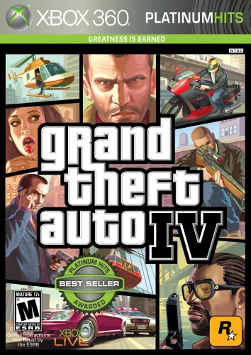Grand Theft Auto IV Xbox 360 artwork