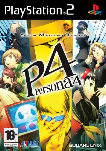 Shin Megami Tensei Persona 4 (PS2) by Games Outlet PlayStation2 artwork