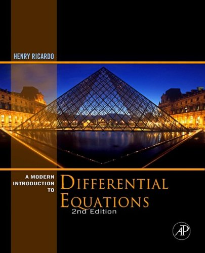 Modern Introduction to Differential Equations  2nd 2009 edition cover