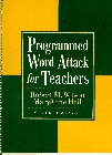 Programmed Word Attack for Teachers  6th 1997 edition cover