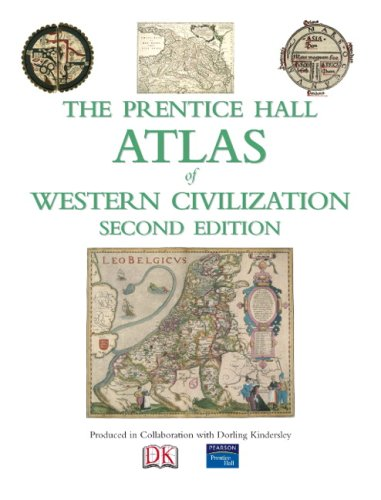 Prentice Hall Atlas of Western Civilization  2nd 2009 9780136042464 Front Cover