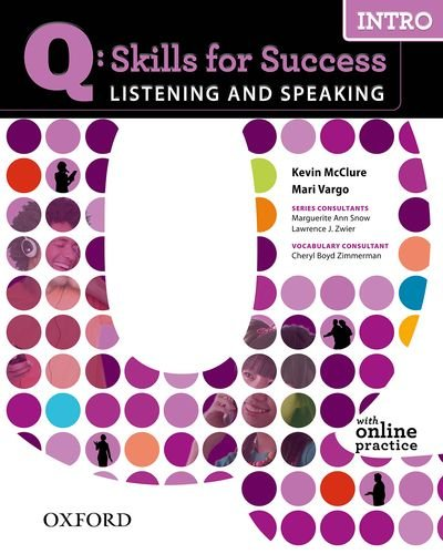 Q - Skills for Success Intro Listening and Speaking Student Manual, Study Guide, etc. edition cover