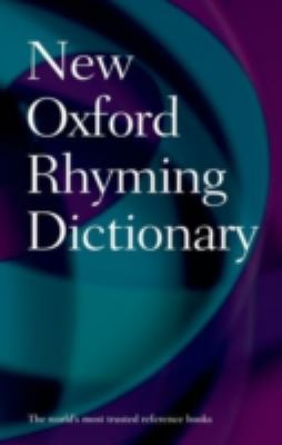 New Oxford Rhyming Dictionary  2nd 2012 edition cover