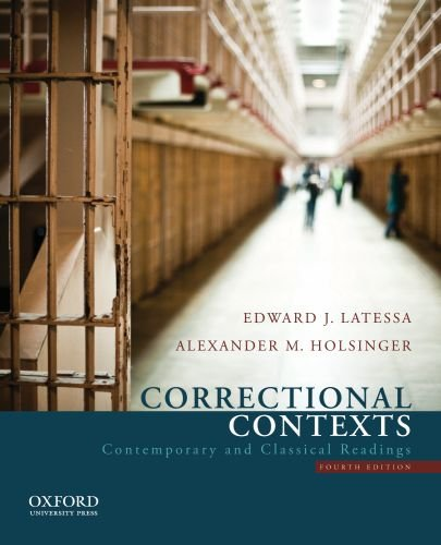 Correctional Contexts Contemporary and Classical Readings 4th 2012 edition cover