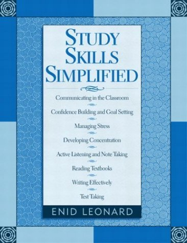 Study Skills Simplified   2005 edition cover