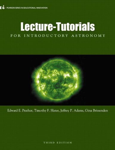 Lecture- Tutorials for Introductory Astronomy  3rd 2013 9780321820464 Front Cover