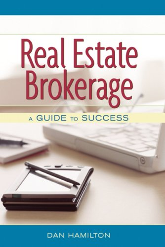 Real Estate Brokerage A Guide to Success  2007 edition cover