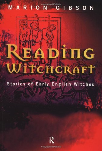 Reading Witchcraft Stories of Early English Witches  1999 edition cover