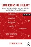 Dimensions of Literacy A Conceptual Base for Teaching Reading and Writing in School Settings 4th 2014 (Revised) edition cover
