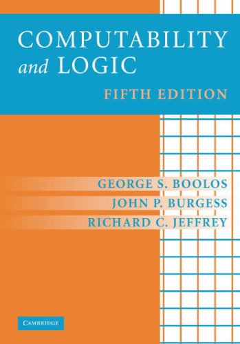 Computability and Logic  5th 2007 (Revised) edition cover
