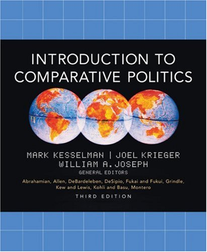 Introduction to Comparative Politics  3rd 2004 9780618214464 Front Cover