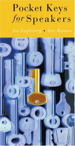 Pocket Keys for Speakers   2004 edition cover