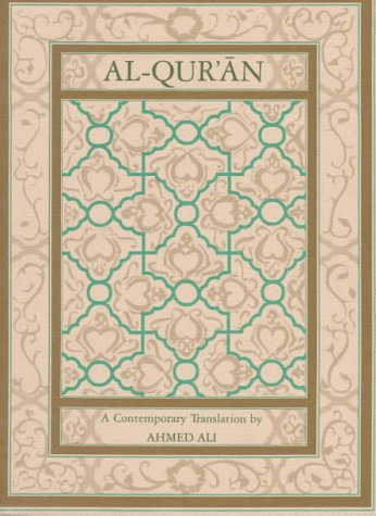 Al-Qur'an A Contemporary Translation 2nd 1988 (Revised) edition cover