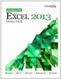 MICROSOFT EXCEL 2013:BENCH.,LV N/A 9780763853464 Front Cover