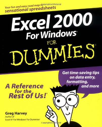 Excel 2000 for Windows� for Dummies�   1999 9780764504464 Front Cover