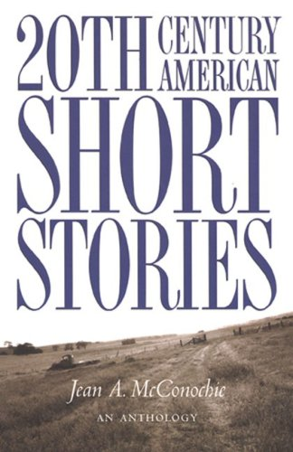 20th Century American Short Stories An Anthology  1995 (Revised) edition cover