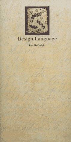 Design Language 1st edition cover