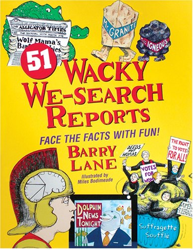 51 Wacky We Search Reports Facing the Facts with Fun  2003 edition cover