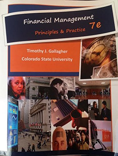 Financial Management 7e Principles and Practices, 7th Ed  2015 9780996095464 Front Cover