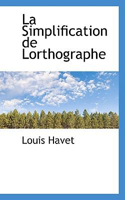 Simplification de Lorthographe  N/A edition cover