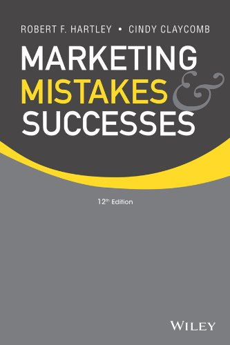 Marketing Mistakes and Successes  12th 2014 edition cover