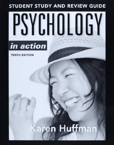 Psychology in Action  10th 2013 edition cover