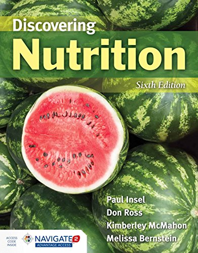 Discovering Nutrition  6th 2019 (Revised) 9781284139464 Front Cover