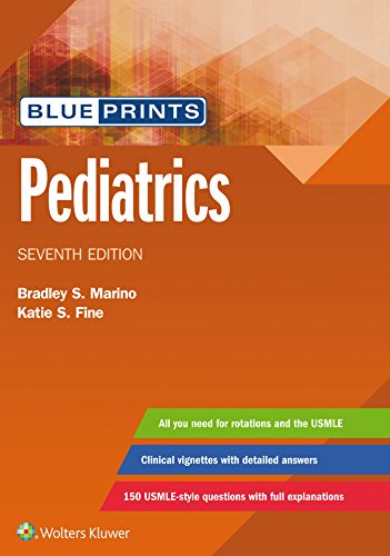 Blueprints Pediatrics  7th 2020 (Revised) 9781496396464 Front Cover