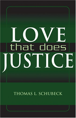 Love That Does Justice   2007 edition cover