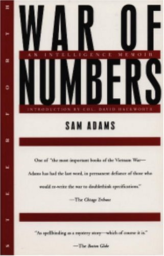 War of Numbers An Intelligence Memoir  1996 edition cover