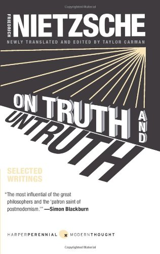 On Truth and Untruth Selected Writings  2010 edition cover